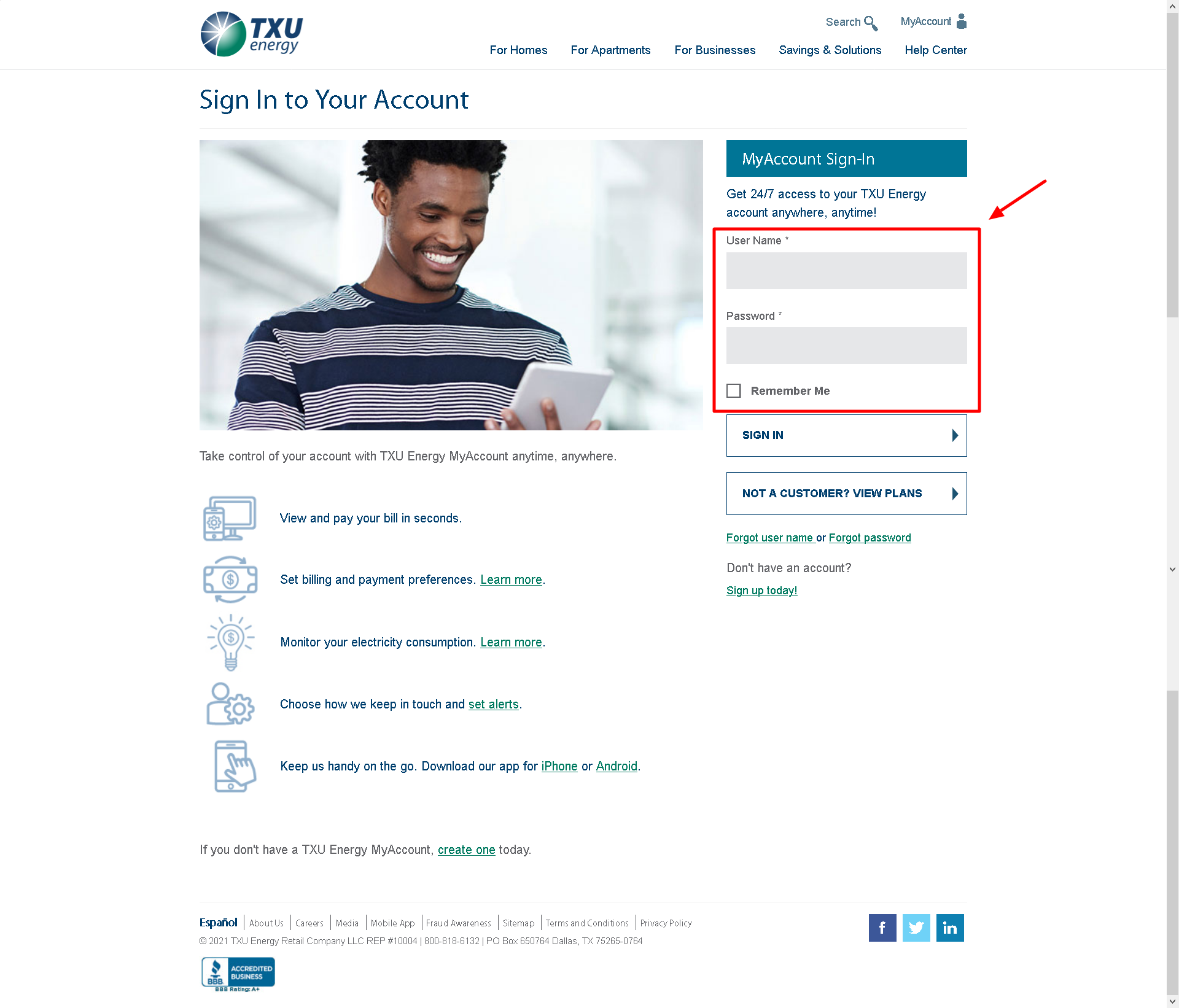 How to Pay TXU Energy Bill